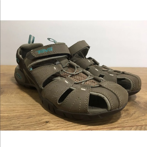 03f9ce890 Teva Womens Tan Forebay Sandals Size 8.5 -K8. M 5a9d6c43d39ca21ecf6776f4
